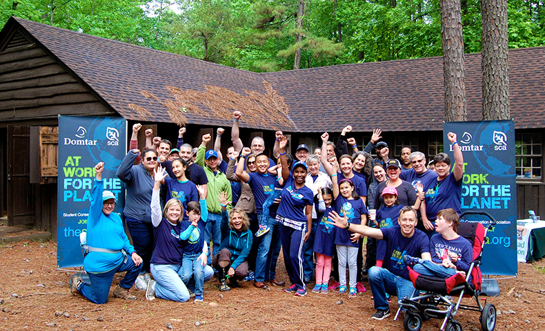 student conservation association at Umstead State Park