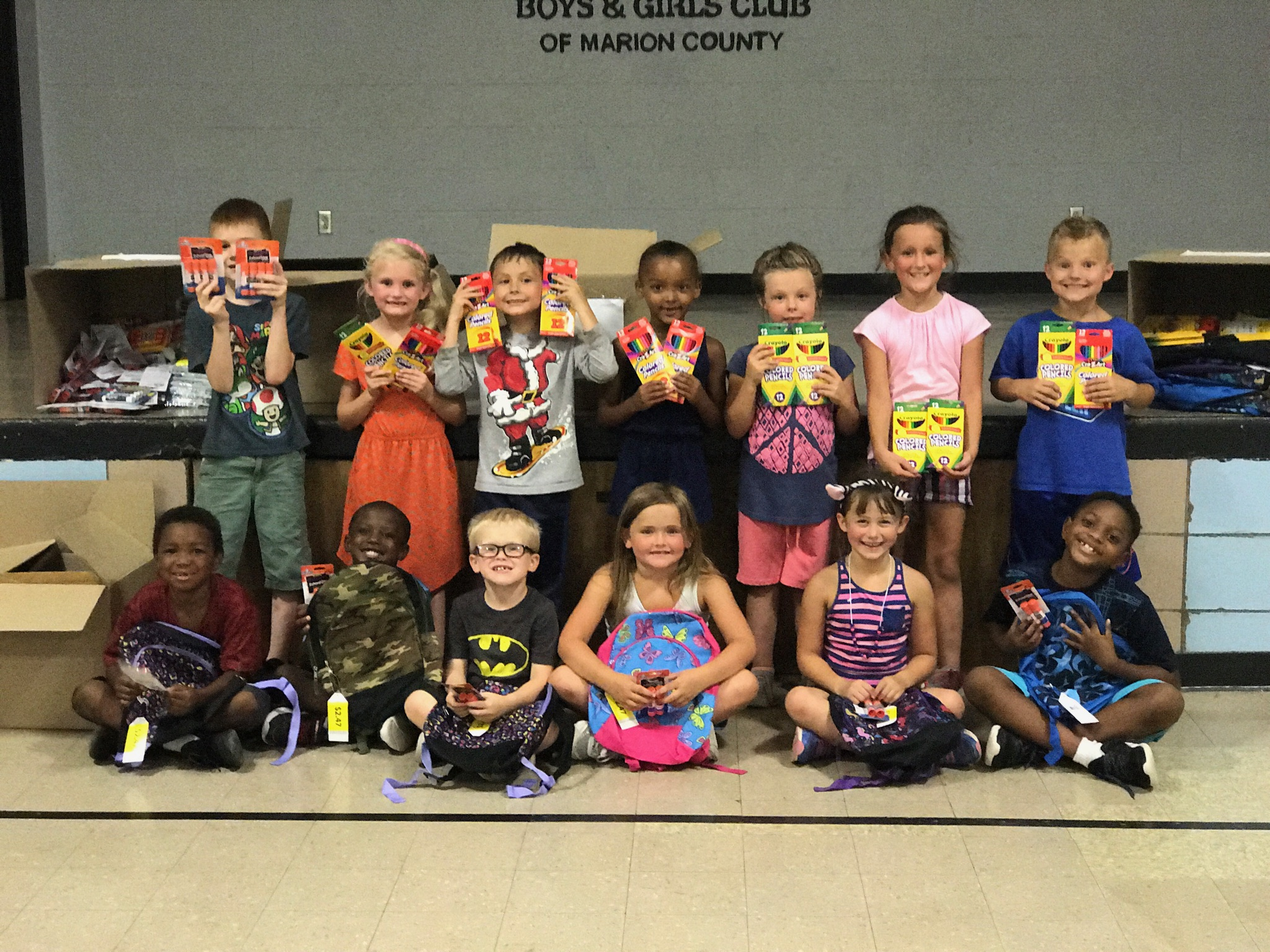 Marion County Boys and Girls Club school supply drive