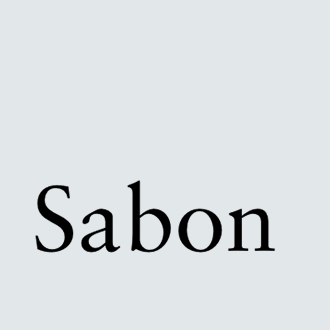 text sabon
