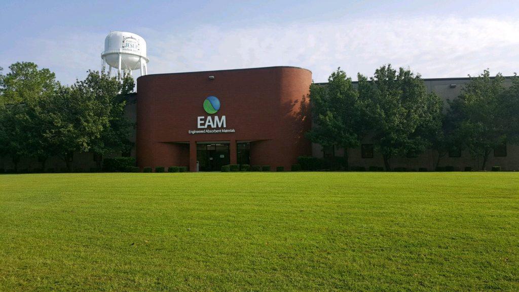 absorbent materials EAM building