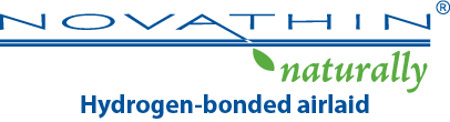 Absorbent materials Novathin logo