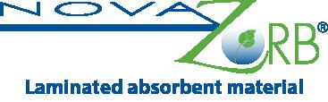 absorbent materials Novazorb logo
