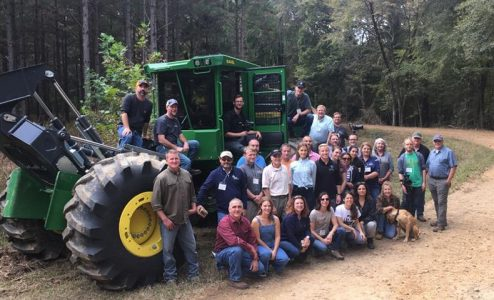 Sustainable Forestry Tour: Educating the Social Media Generation