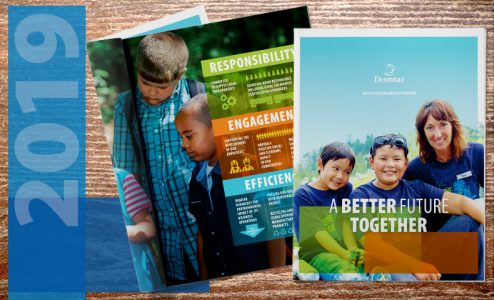 Domtar's 2019 Sustainability Report: A Better Future Together