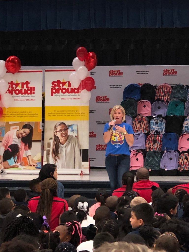 Office Depot Start Proud - school supply program