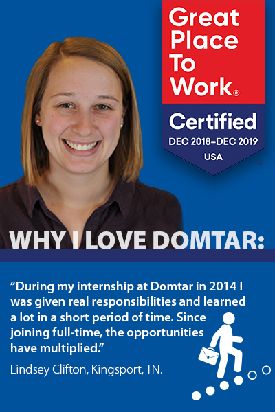 working at domtar clifton