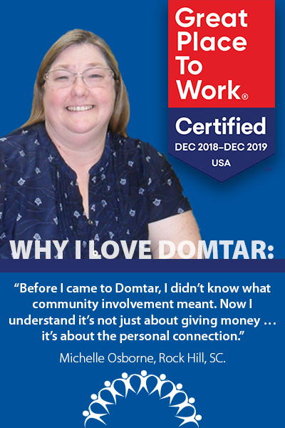 working at domtar osborne