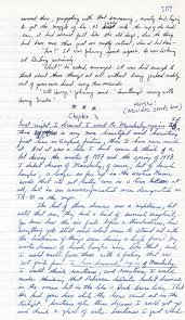 facts about Stephen King pen and paper drafts