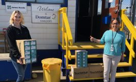 Domtar Employees Strengthen Communities with COVID-19 Support